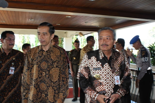Governor of Central java  Mr. Bibit Waluyo