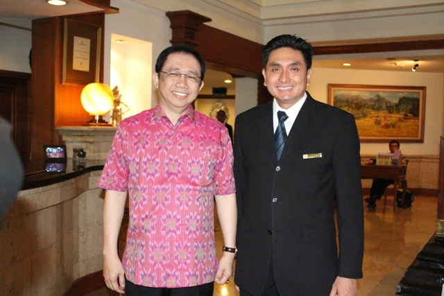 Chairman of House of Representatives, Mr.Marzuki Alie
